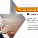 AEC has decided to take its' operations out of office in order to reduce the risk of social contact