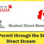 Get Study Permit through the Student Direct Stream